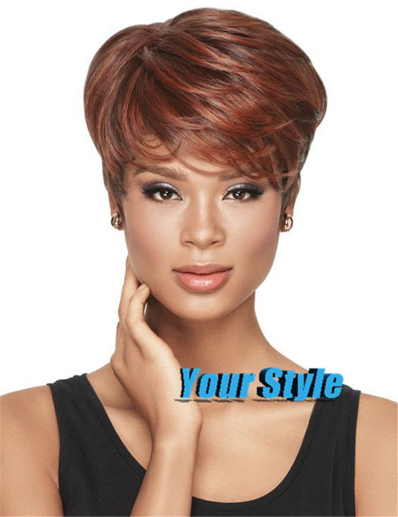 Black Short Hairstyles Wigs 25