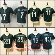 100% stitched baby Philadelphia Eagles toddler 7 Sam Bradford 11 Tim Tebow 29 DeMarco Murray 43 Darren Sproles()