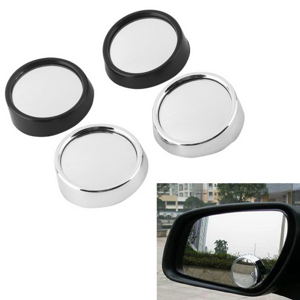 Auto car RearView Blind Spot mirror 2 Side Wide Angle Round Car Vehicle Convex  Mirror Auto glass sticker hot selling<br><br>Aliexpress