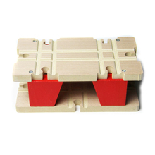 P051 Double rail hub wooden Thomas train tracks compatible accessories suitable for wood and electric Thomas(China (Mainland))