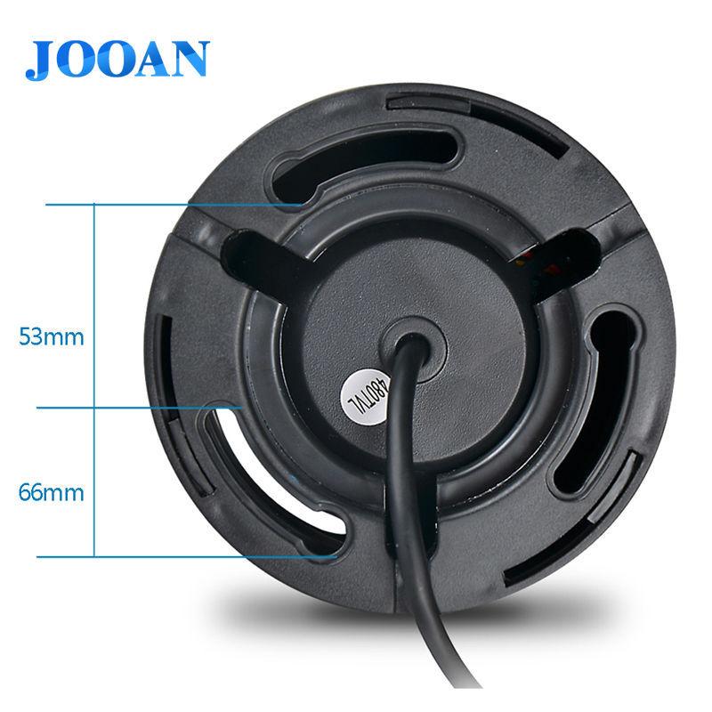 JOOAN 1 3 color CMOS 700TVL Dome MINI CCTV Camera HD Indoor Black 24 IR Leds