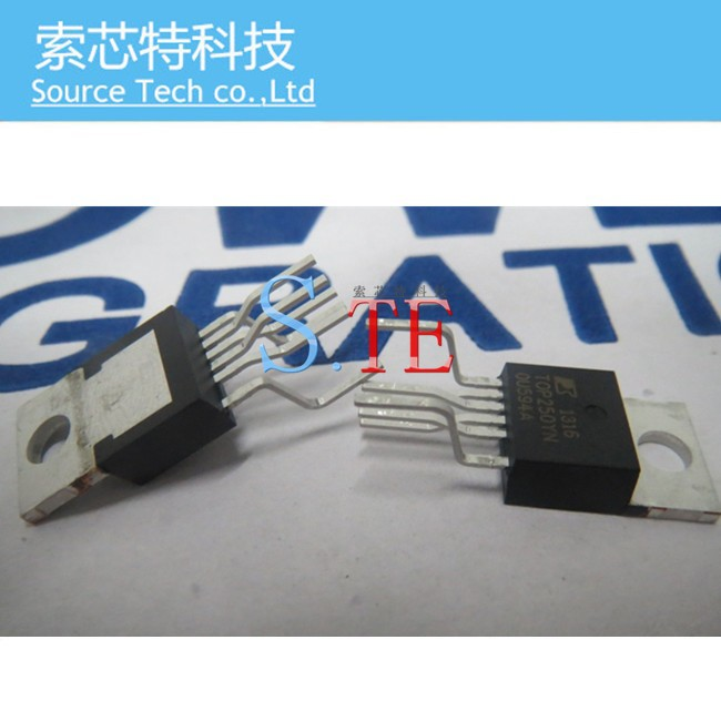 Free shipping! 50PCS TOP250YN TOP250Y TOP250 TO-220-6 PI  PMIC POWER MANAGEMENT IC D,
