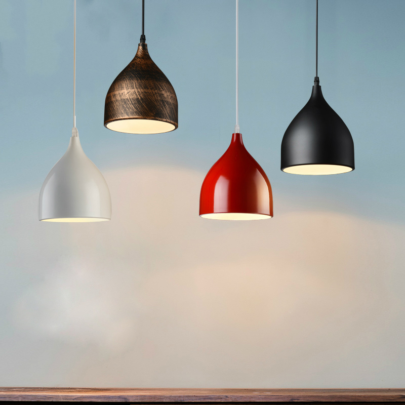Simple Modern Nordic Creative Personality Restaurant Pendant Lamp Three Single Head Bar Table Hanging Lamp Study Hanging Lamp<br><br>Aliexpress