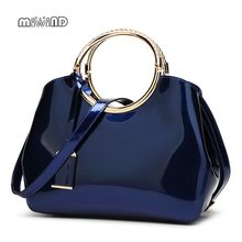 Buy 2017 High Patent Leather Women bag Ladies Cross Body messenger Shoulder Bags Handbags Women Famous Brands bolsa feminina for $24.56 in AliExpress store