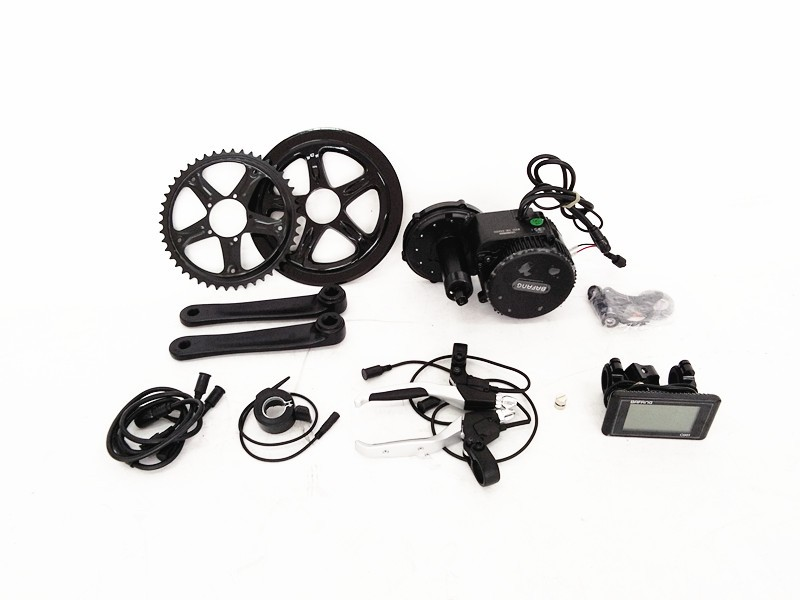 bbs02 bafang mid motor electric bike kit 36v 250w