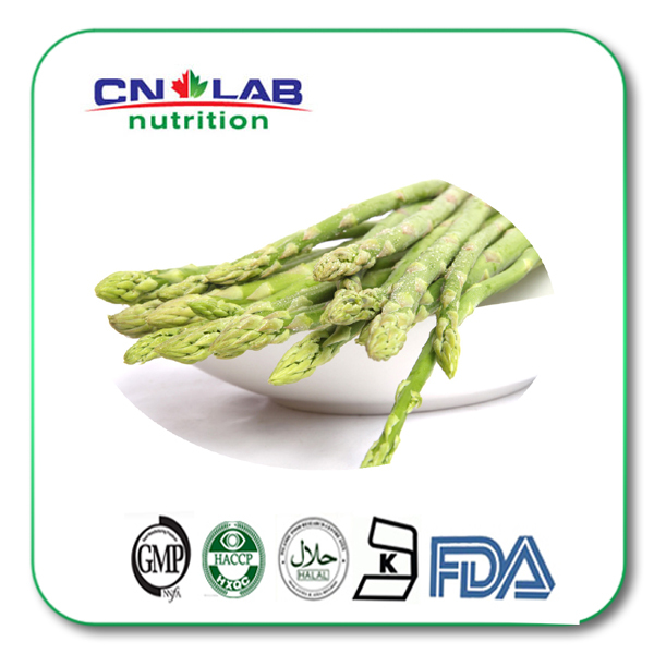 5% 200g/lot factory supply Asparagus flavonoids powder defend constipation(China (Mainland))
