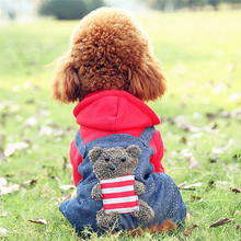 Buy Outdoor Dog Clothes Small Dogs Winter Pet Dog Clothing Puppy Chihuahua Dog Coat Jeans Jacket Ropa Para Perros for $7.48 in AliExpress store