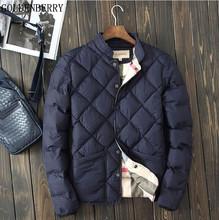2016 Winter brand jacket Men fashion warm padded jacket coat cotton casual European Men autumn outerwear winter coat windbreaker(China (Mainland))