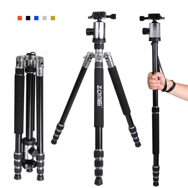 Zomei новый дизайн Z818 конвертируемых профессиональный штатив для напольной, штатив для камеры(черный цвет)