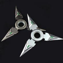 Buy Game OW Genji Shuriken Zinc Alloy Darts Weapons Model toys Christmas Gift for $6.69 in AliExpress store