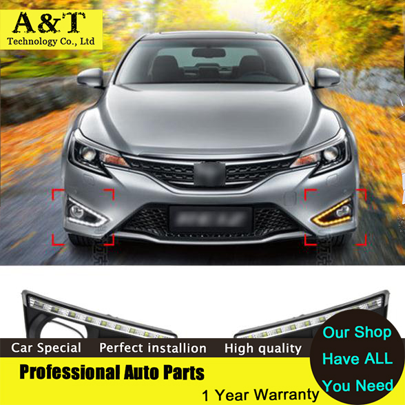 A&T car styling Car Styling DRL For Toyota REIZ Mark X 2012 -2014 Daytime running lights