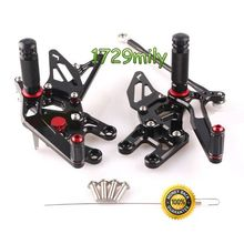 Adjustable Foot Rests For Kawasaki ZX 10R 2004 2005 zx10r Brand New Motorcycle parts Rear Set