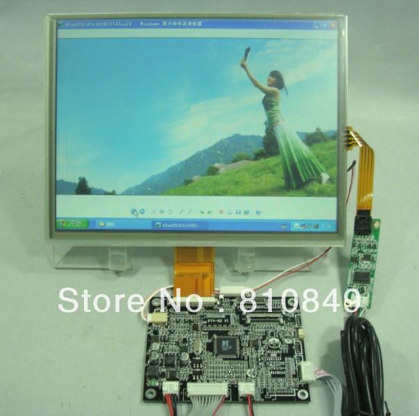 VGA+AV lcd driver board+10.4inch 800*600 LSA40AT9001 lcd panel + touch screen(China (Mainland))