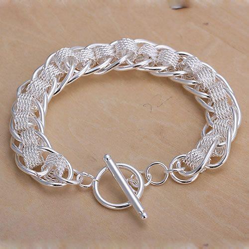 H059 Hot 925 sterling silver bracelet,New arrival silver fashion jewelry, Centipede Bracelet /adjaiuqa abyaitfa(China (Mainland))
