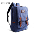 ZENBEFE Vintage Men S Backpack Individuality Backpack For Travel Capacity Men Travel Bags Leisure School Bag