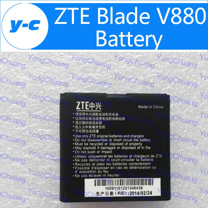 ZTE blade v880 Battery New Original 1250mAh High Quality Backup battery ZTE U880 N880 f950 f952 N72 N73 In Stock Free Shippping(China (Mainland))