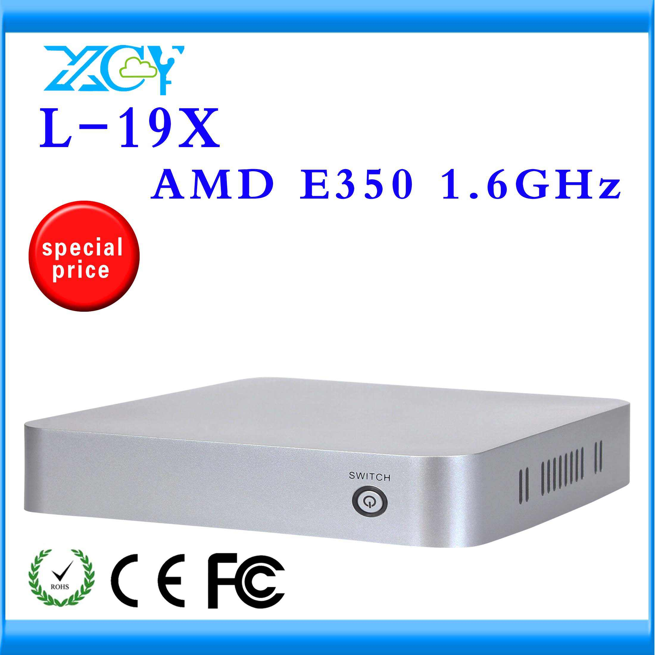 XCY E350 cpu Dual core 8G SSD 2G RAM industrial pc net computer nework pc with with 4*USB2.0,1*HDMI 1.3, 2*MIC,2*SPK COMPUTER(China (Mainland))