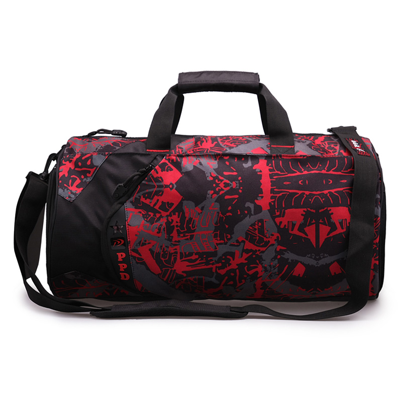2015 Brand sports men and women travel luggage gum bag with Independent shoes pocket sport bag(China (Mainland))