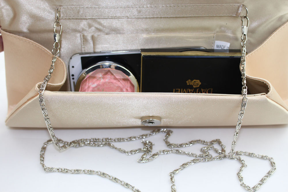 Новый Винтаж Женщин Свадебные Вечерние Сумки Партия Сцепления Атласная Плиссированные Элегантный Алмаз Hasp длинный Кошелек Сумка Сумки сумка