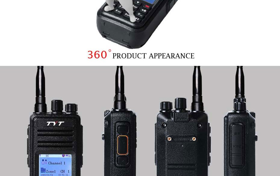 wholesale dmr digital mobile radio tyt md 380 tytera. Black Bedroom Furniture Sets. Home Design Ideas