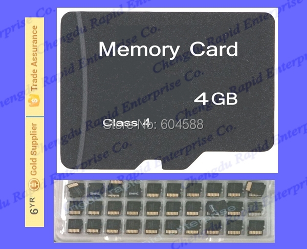 Class 6-100pcs/lot Real 4GB full storage micro size sd card/ Memory card/2015 Wholesale Promotion cheap price China factory(China (Mainland))