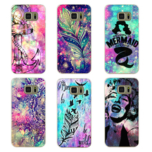Stylish Bright Star Clear Hard case for Samsung Galaxy S3 S4 S5 Mini S6 S7 Edge Note 2 3 4 5(China (Mainland))