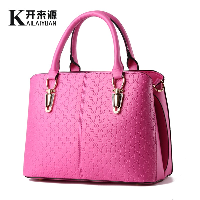 Kai 100% Genuine leather Women handbags 2016 New female bag leisure female stereotypes sweet stylish shoulder bag Messenger bag(China (Mainland))