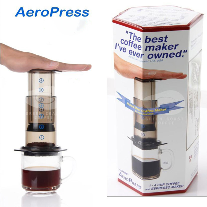 Free shipping Best Espresso Portable Coffee Maker Aeropress Coffee Maker Coffee press maker with ...