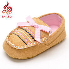 little girls study walk shoes cut bow striped design breathable sewing shoes fashion casual flat little kids shoes 3 colors