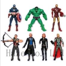 New 7pcs Super Hero Marvel The Avengers action figures