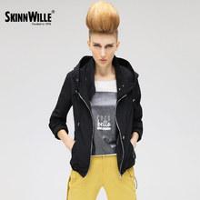 SkinnWille 2017 ветровка куртка женская пальто женское джинсовая кожаная куртка куртки женские пиджак женский (China (Mainland))