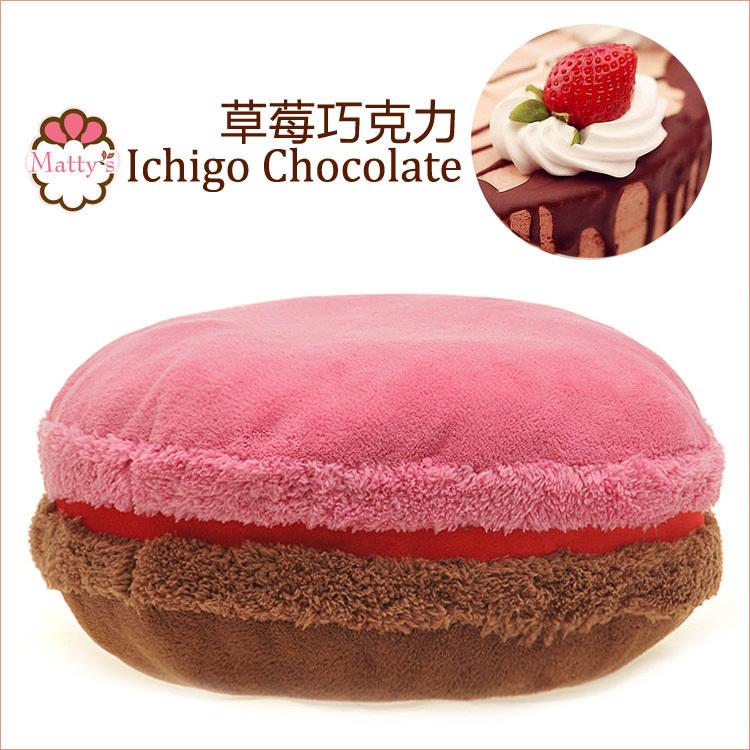 Macaron kissen französisch Macaron runden kuchen kissen kissen ichigo Schokolade(China (Mainland))