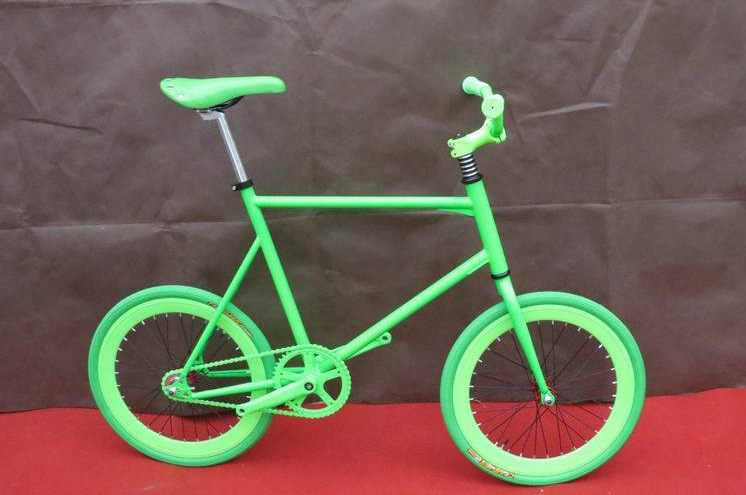 TOP quality 20 inch pocket kid children's bicycles single speed fixed gear road bike free shipping(China (Mainland))