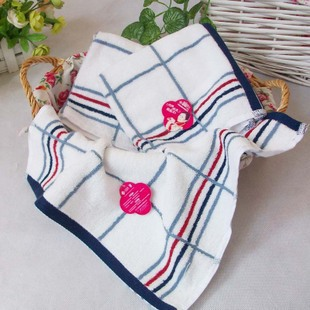 Free shipping 100% cotton hand towel microfiber towel kids towel gift whitecolor 34*34cm soft good water Absorption 4pieces/lot(China (Mainland))