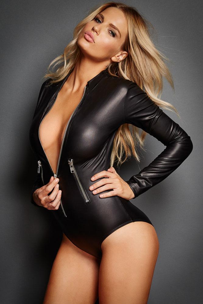 sexiga kvinnor cat suit