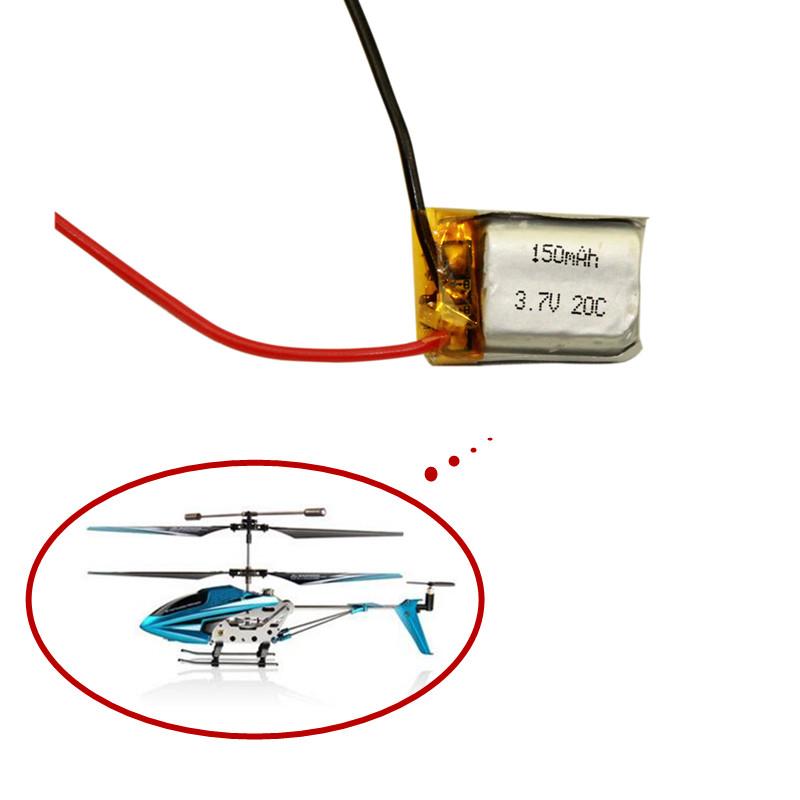 3.7V 150mAh Syma S107 S107G 1S 3.7V 150mAh Li-Po Battery 3.7V Helicopter Part Free shipping 1PCS(China (Mainland))