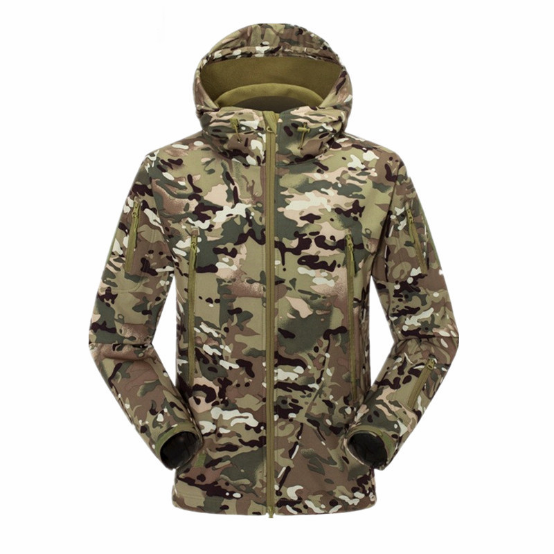Facecozy Men Winter Windproof Sports Army Clothing Warm Hunting&Fishing Jackets Outdoor Camping&Hiking SKI Suit Jacket - Kingdom store