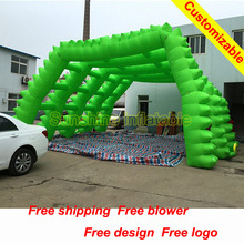 6mWx3mDeepx4mH most special advertising decoration inflatable event tent with points  (China (Mainland))