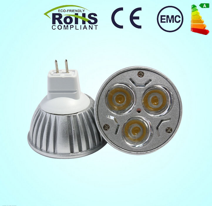 1Pcs Dimmable MR16 9W High power LED Spot Light Bulb Spotlight downlight lamp 50W replacement(China (Mainland))