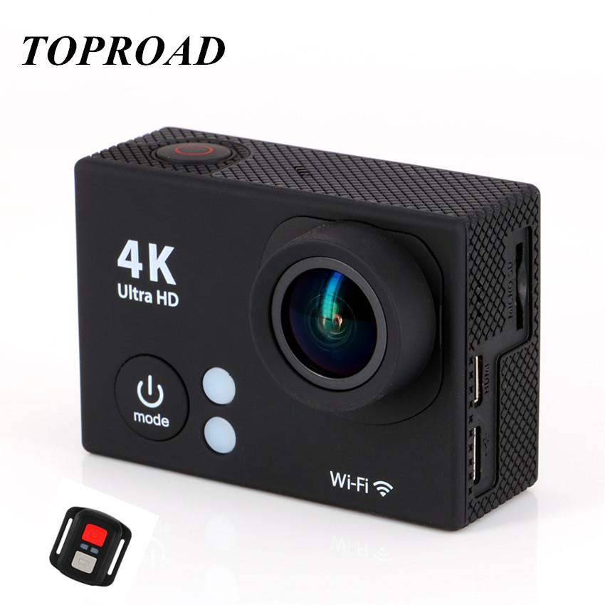 Ultra 4K HD1080P H2R Mini Wifi Action Camera Portable 2 LCD Screen Outdoor Sport Camera Waterproof Helmet Remote Control Cam <br><br>Aliexpress