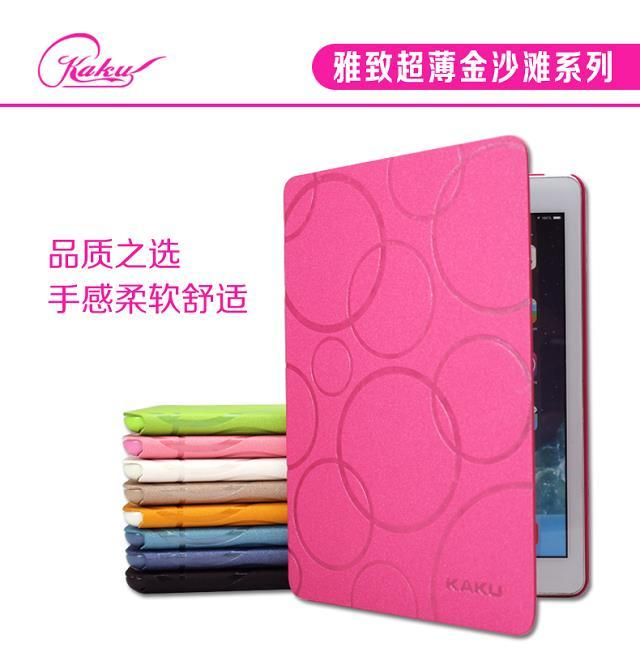 Stand cover case for Apple iPad 2 3 4 Magnetic Auto Wake Up Sleep Flip Kaku high quality Leather Case For new iPad 3 iPad 4(China (Mainland))