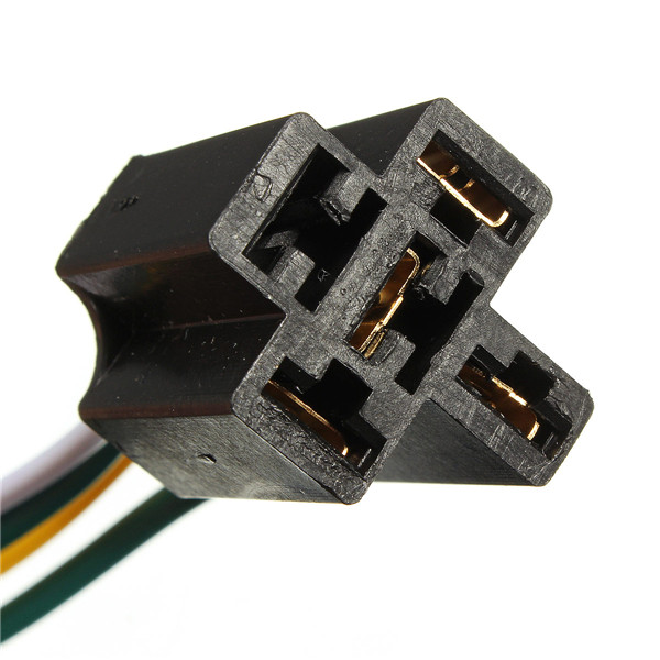 2015 New Arrival 12V 12Volt 30A 40A Auto Automotive Relay Socket 30 Amp 40 Amp Relay