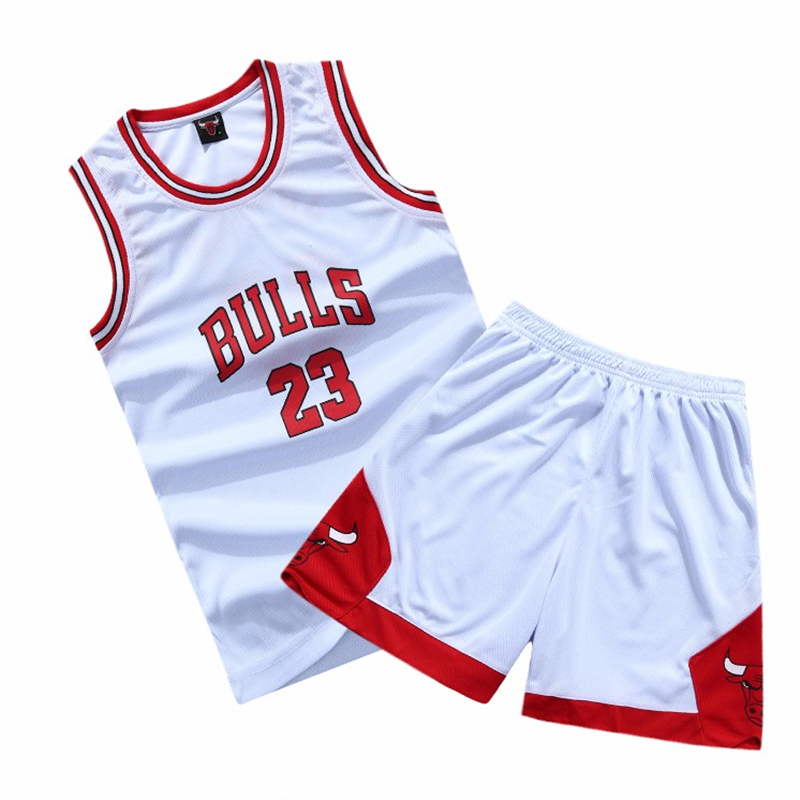 Children Basketball Jersey Set Baby Boys Training Sport Suits Clothing Toddler Girls Tracksuits Shirt+Shorts Set for Kid Clothes(China (Mainland))