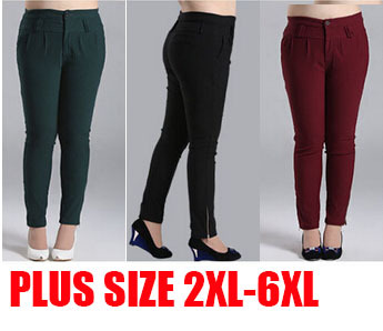 2017 Extra Plus Size 3xl 9xl Women Long Pants New Autumn Brand For ...