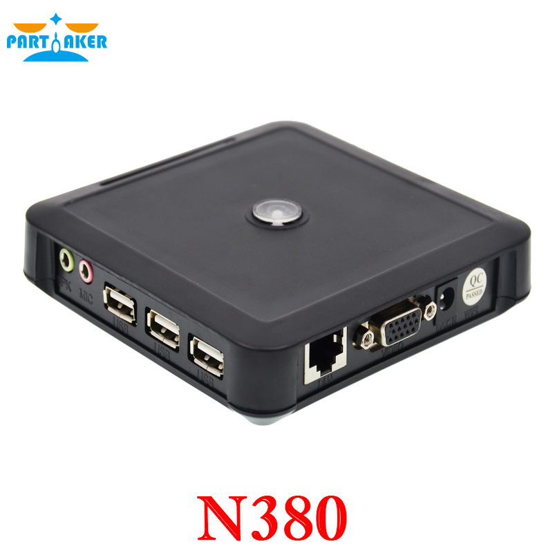 Newest ARM11 Thin Client Net Computer PC Station N380 Win CE 6.0 Embedded Server OS Support Winows 7 /vista/Linux/xp(China (Mainland))