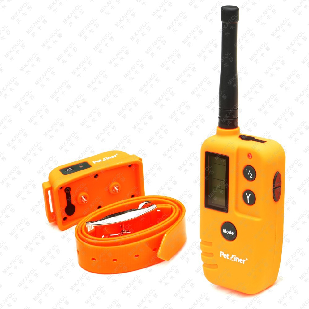 3pcs/lot Remote Dog Trainer Shock Collar with Static & Vibration, 500M(China (Mainland))