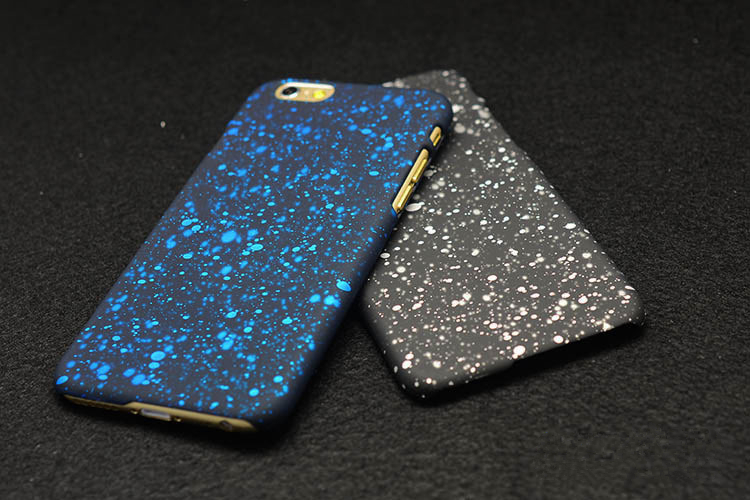 "9 Colors Luxury Starry Sky Case For Coque iPhone 6 Case Hard Plastic Carcasa Matte Funda For Capa Para iPhone 6 4.7"" Capinha(China (Mainland))"