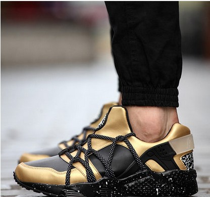 new 2015 Autumn casual shoes huarache chaussure femme Breathable Air mesh men shoes Outdoor sport jogging mens trainers 8646(China (Mainland))