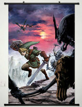 The Legend of Zelda Home Decor Anime Japanese Poster Wall Scroll