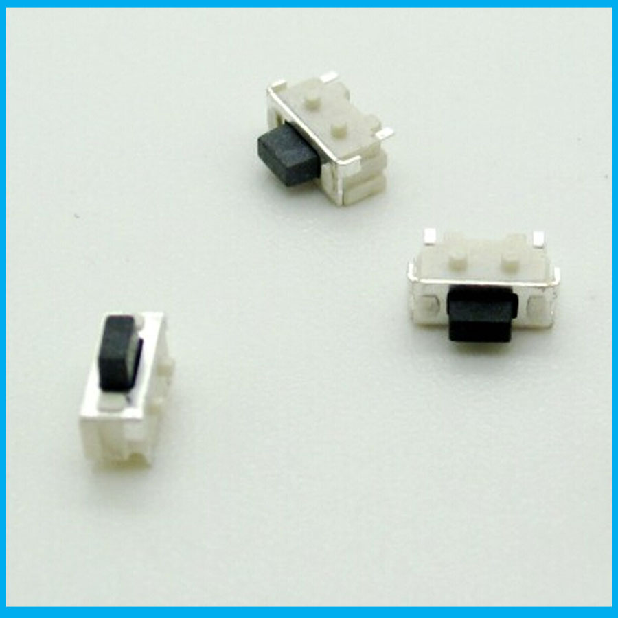 Free shipping 200pcs/lot Imported 2x4x3.5/2*4*3.5 MM micro SMD Tact Switch side button switch MP3 MP4 MP5 Tablet PC switch(China (Mainland))